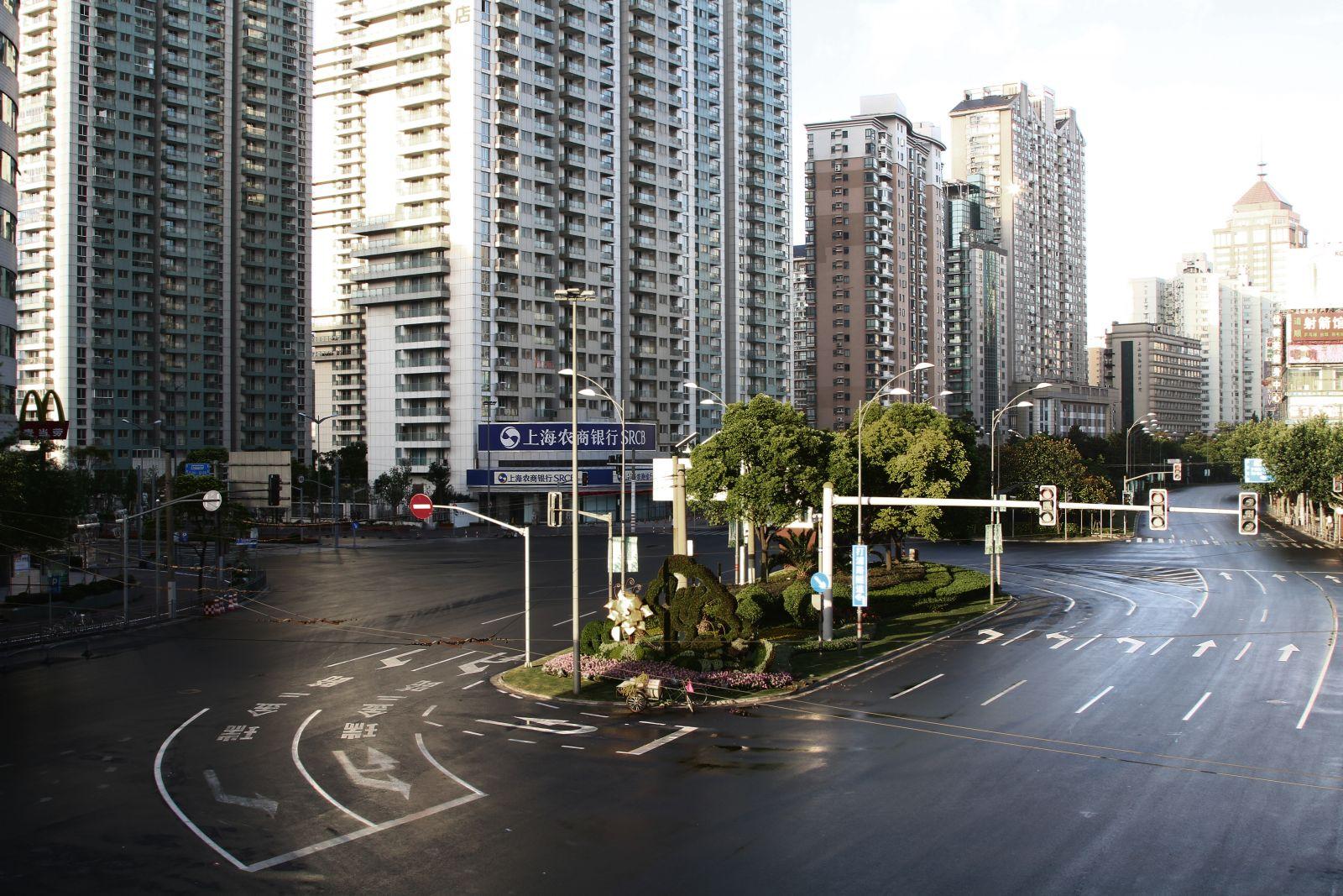 Empty Shanghai © Olivier Vigerie